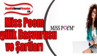 Miss Poem Bayilik Başvurusu ve Şartları
