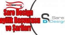 Sare Design Bayilik Başvurusu ve Şartları