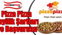 Pizza Pizza Bayilik Başvurusu ve Şartları