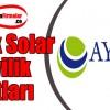 Ayetek Solar Bayilik Başvurusu ve Şartları
