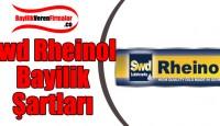 Swd Rheinol Bayilik Başvurusu ve Şartları