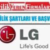 LG Bayilik Şartları ve Başvurusu
