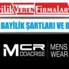 MCR Giyim Bayilik Şartları ve Başvurusu