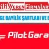 Pilot Garage Bayilik Şartları ve Başvurusu