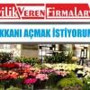Çiçekçi Dükkanı Açmak İstiyorum Diyenlere