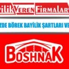 Boshnak Közde Börek Bayilik Şartları ve Başvurusu