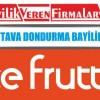 Ice Frutti Tava Dondurma Bayilik Şartları