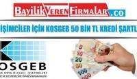 Girişimciler İçin KOSGEB 50 Bin TL Kredi Şartları