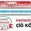 Hacıalioğlu Çiğköfte Bayilik Şartları ve Başvurusu