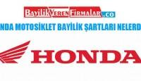 Honda Motosiklet Bayilik Şartları Nelerdir?