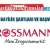Rossmann Bayilik Şartları ve Başvuru Süreci
