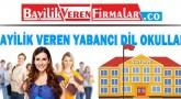 Bayilik Veren Yabancı Dil Okulları