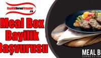 Meal Box Bayilik Başvurusu ve Şartları