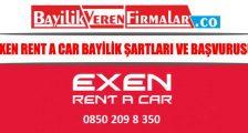 Exen Rent A Car Bayilik Şartları Ve Başvurusu