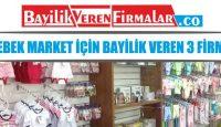 Bebek Market İçin Bayilik Veren 3 Firma