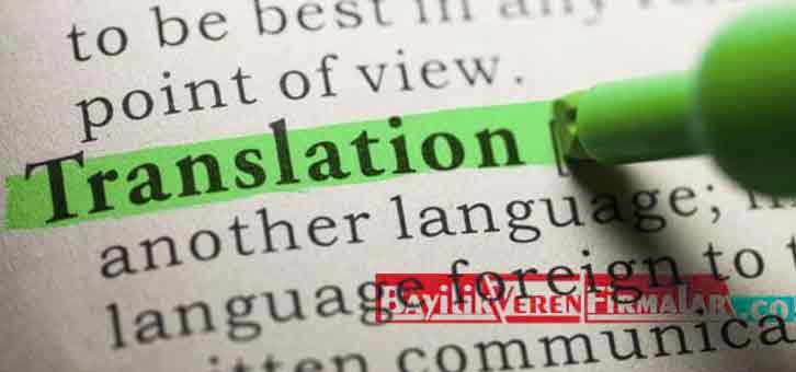 çeviri işi